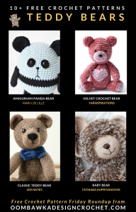 Free Pattern Friday Crochet Teddy Bear Patterns
