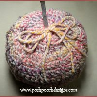 Super Chunky Pumpkin - Sara Sach - Featured Free Pattern Friday