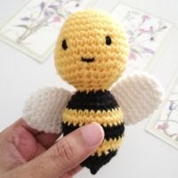 Little Bumble Bee Amigurumi Featured at Free Pattern Friday