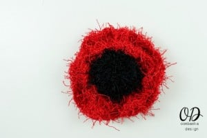 Poppy Scrubby for Dishes | Free Pattern