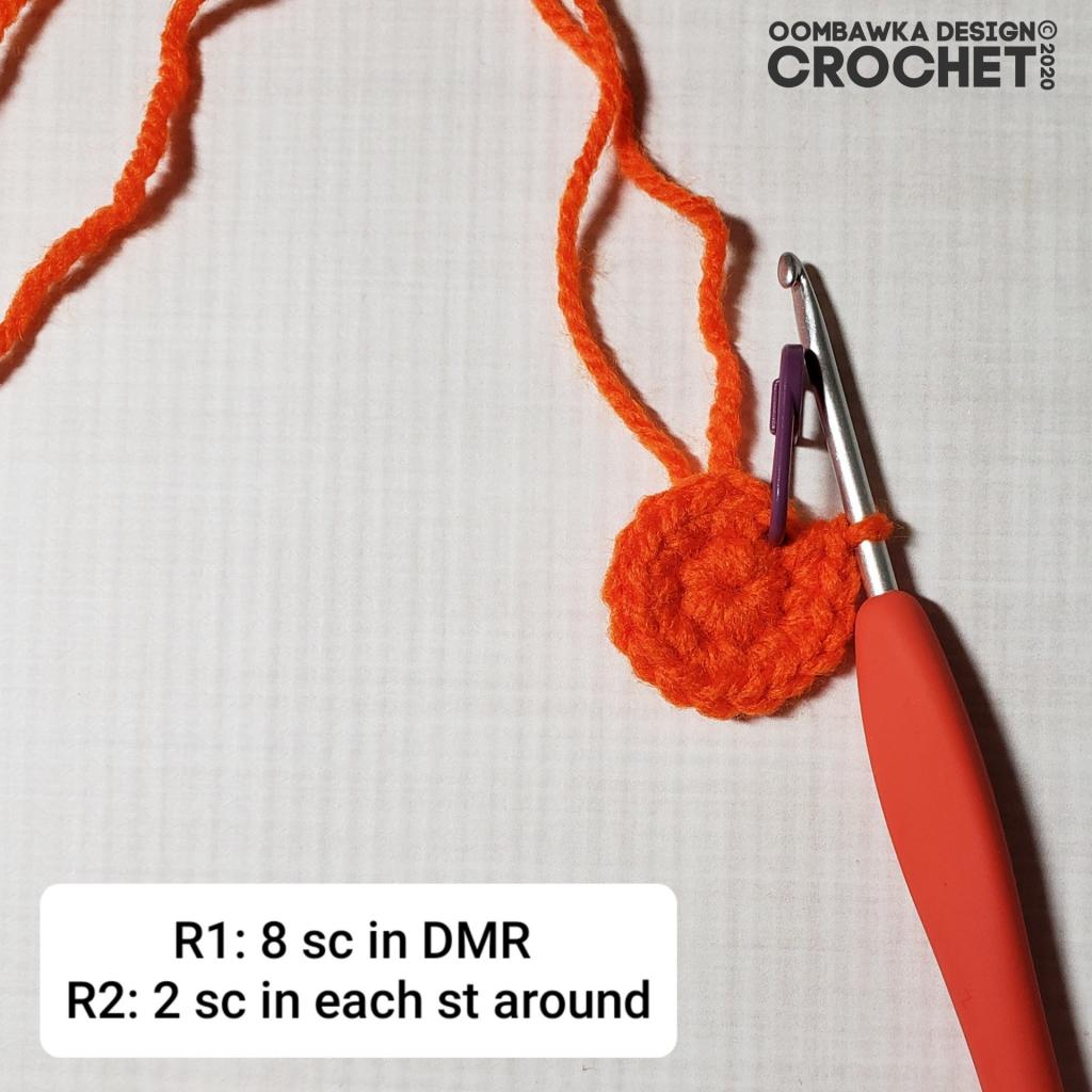Crochet Pumpkin Tutorial 1