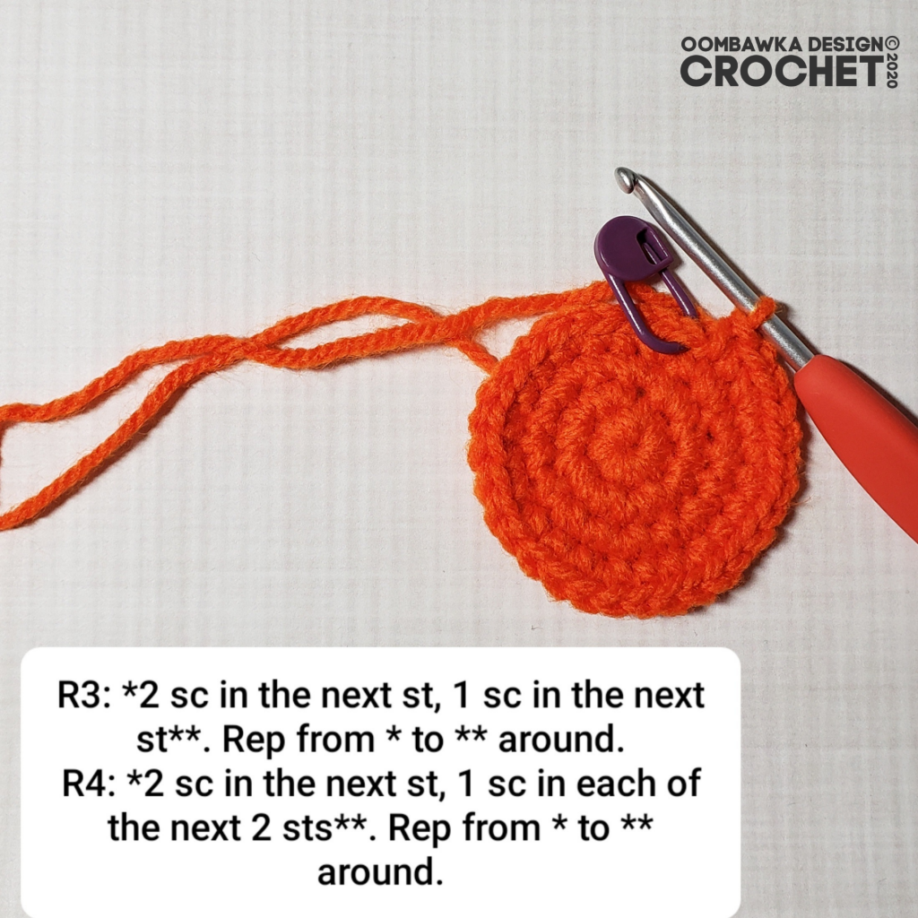 Crochet Pumpkin Tutorial 2