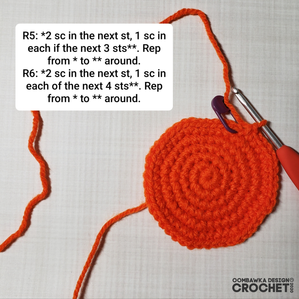 Crochet Pumpkin Tutorial 3