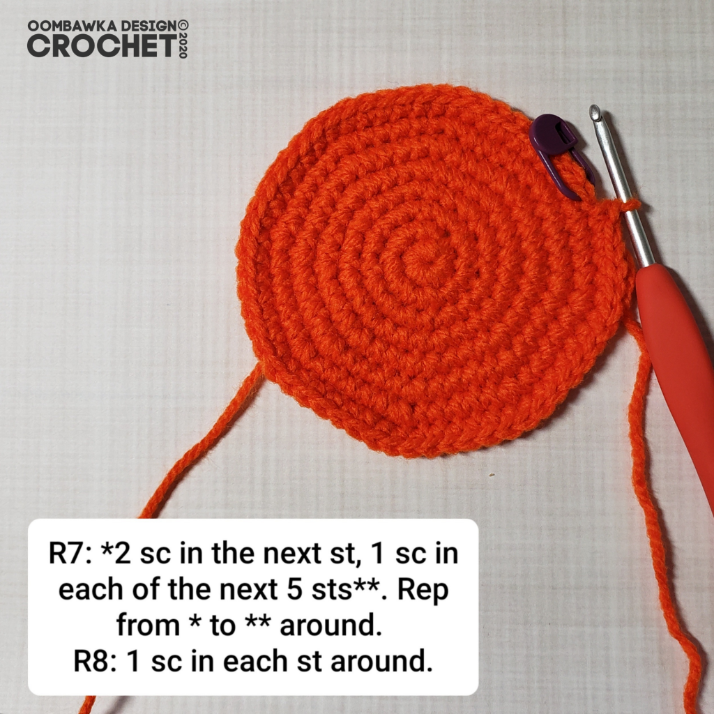 Crochet Pumpkin Tutorial 4 #CALCentralCrochet #HalloweenCAL2020