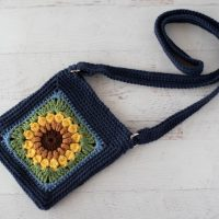 Sassy Sunflower Crossbody Bag - Featured Wednesday Link Party 365