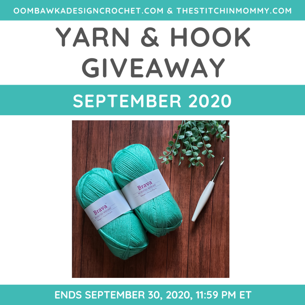 September Yarn and Hook Giveaway ODC and TSM