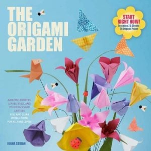 The Origami Garden | SMP Book Review | oombawkadesigncrochet.com