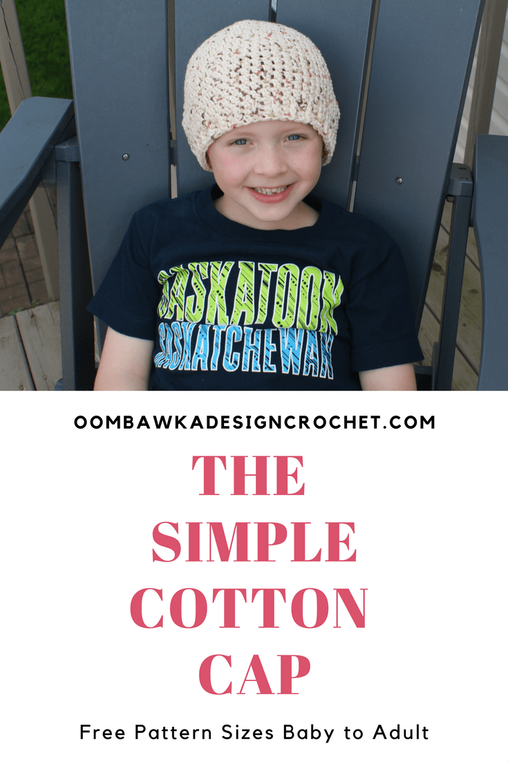 The Simple Cotton Cap Free Pattern