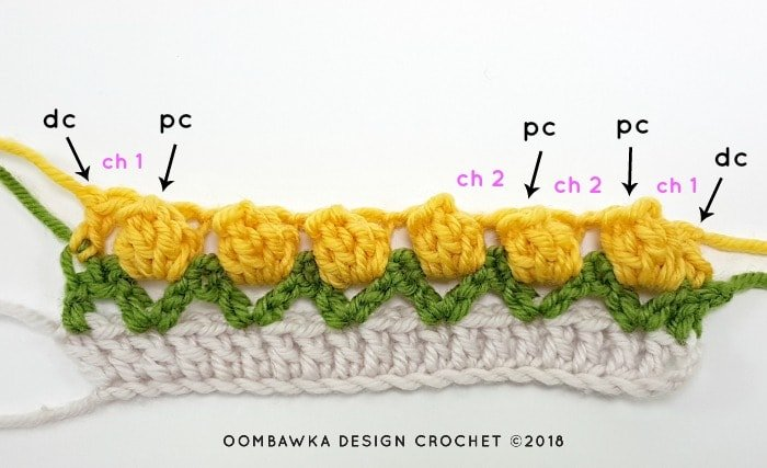 Tulip Stitch Crochet Pattern Tutorial by Oombawka Design Crochet Image 3f