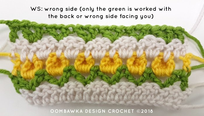 Tulip Stitch Crochet Pattern Tutorial by Oombawka Design Crochet Image 5