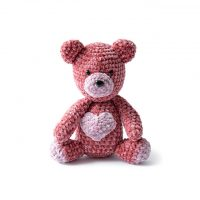 Velvet Teddy Bear at Yarnspirations FPF