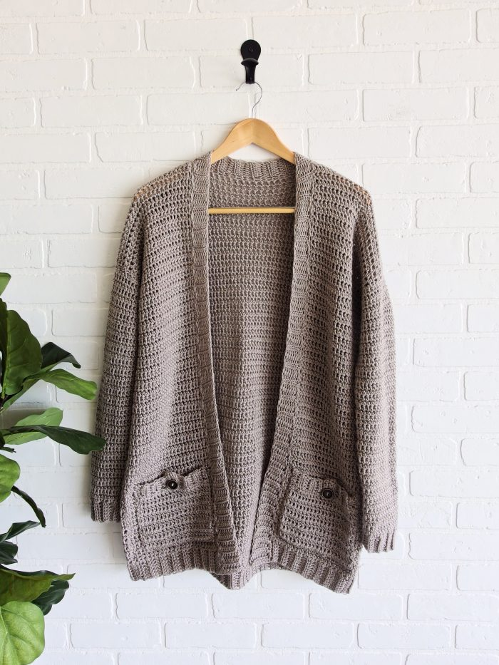 The Parker Cardigan by Meghann Chupp Guest Post for Oombawa Design Crochet 2018
