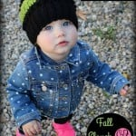 Oombawka Design | Fall Slouch Hat 12 to 24 months