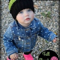 Fall Slouch Hat – 12 months to 24 months