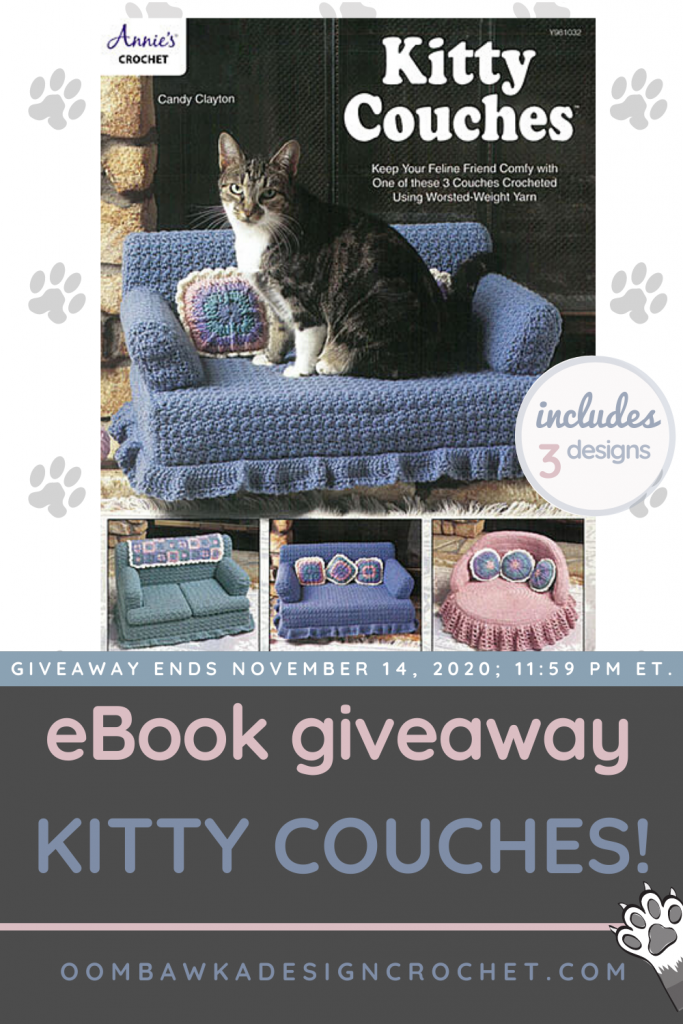 Annie's Craft Store Kitty Couches - Review - Oombawka Design GIVEAWAY ENDS Nov 14 2020 1159 PM ET