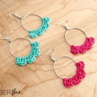 Caribbean Wave Hoop Earrings
