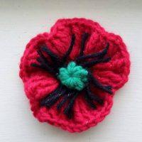 Lorraine's Easier Crochet Poppy Pattern