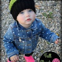 Fall Slouch Hat | 6 to 12 months