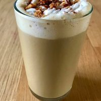 Featured at Link Party 371 Stroopwafel Latte Macchiato Recipe