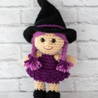 Featured at Party 371 Sami a Crochet Witch (free pattern)