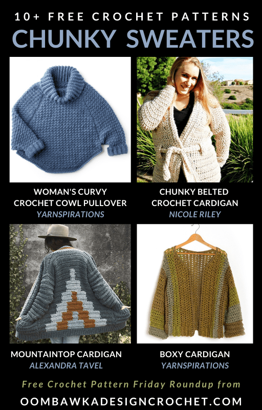 Free Chunky Crochet Sweater Patterns FPF ODC