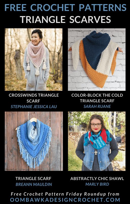 Free Triangle Scarf Crochet Patterns Free Pattern Friday