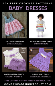 10 Free Crochet Patterns Baby Dresses