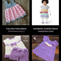 10 Free Crochet Patterns Baby Dresses