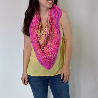 HDC All Day Triangle Scarf Featured FPF