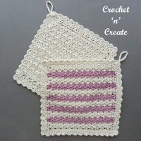 Featured Free Pattern Friday: Hanging Dishcloth by Crochet 'n' Create