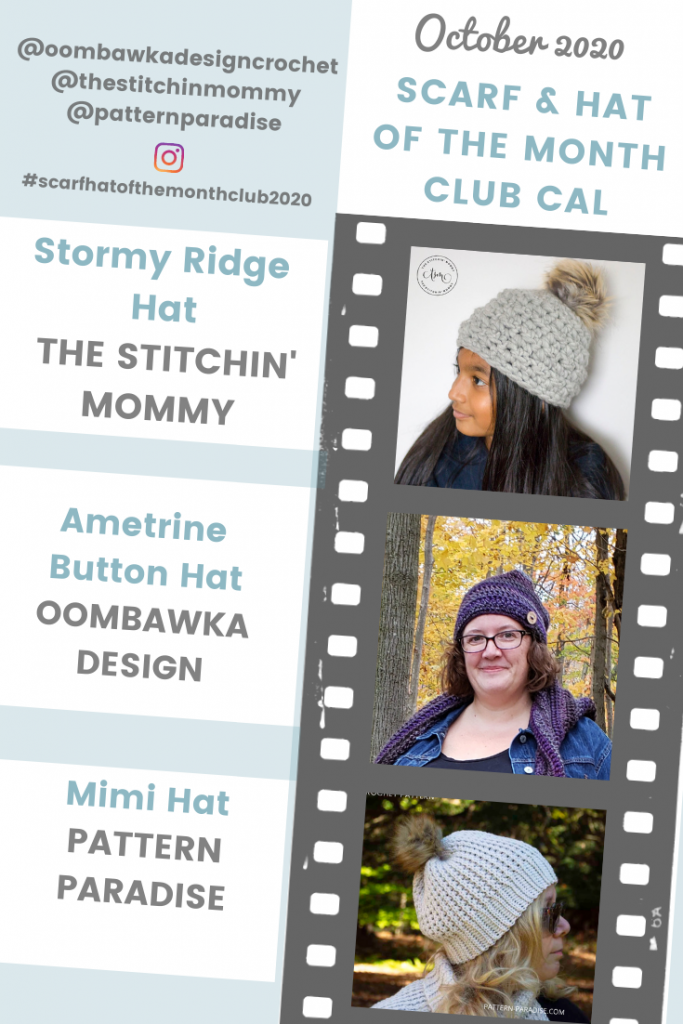 October 2020 Hat of the Month CAL