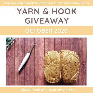 October Yarn and Hook Giveaway