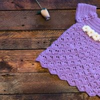 Purple Baby Dress Pattern