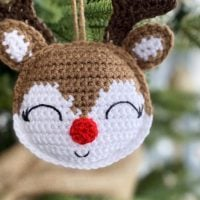 Featured Free Pattern Friday: Rudolph Ornament by Spin a Yarn Crochet