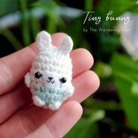Tiny Bunny designed by The Wandering Deer