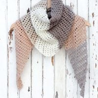 Featured at FPF Desert Winds Triangle Scarf