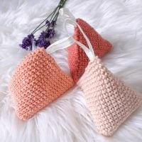 Featured Free Pattern Friday: Pyramid Lavender Bag Pattern by Sarah Ruane