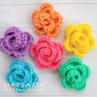Featured Free Pattern Friday: Rose by Naztazia