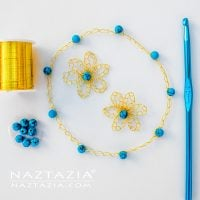 Featured Free Pattern Friday: Wire Flower by Naztazia