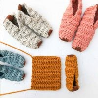 Magic Rectangle Slippers by Jess Coppom