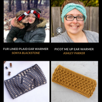10 Free Crochet Ear Warmer Patterns - Free Pattern Friday