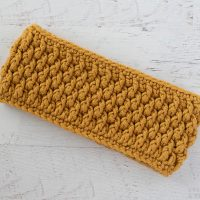 Alpine Stitch Ear Warmer - Featured Free Pattern Friday