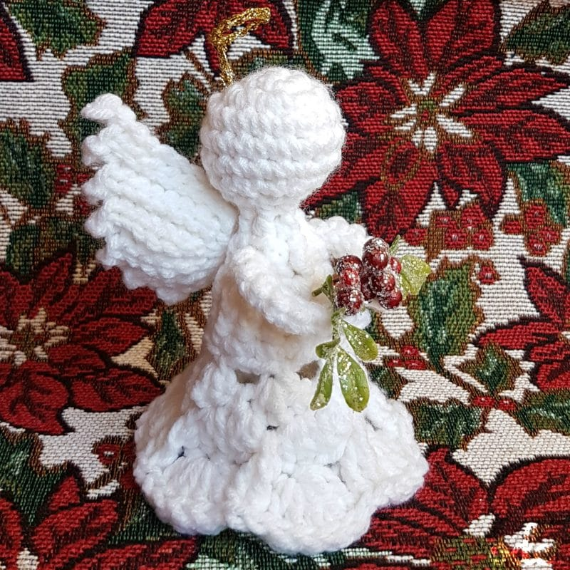 Mistletoe Christmas Angel ODC