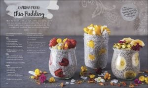 Chia Pudding Eat Feel Fresh. DK Book Review by Rhondda Mol Oombawka Design