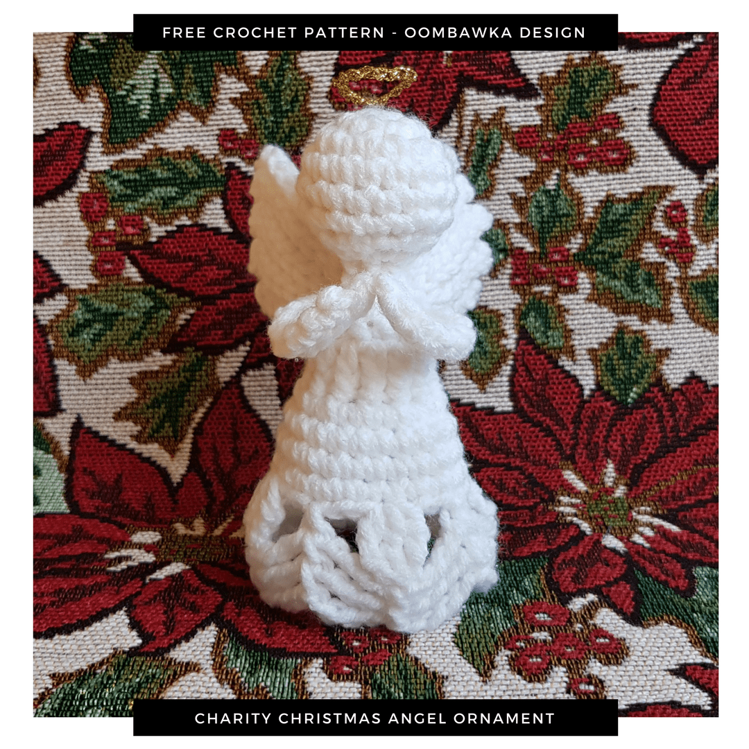 Charity Angel Crochet Pattern ODC
