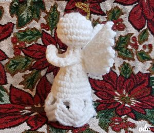 Charity – A Crochet Angel Ornament