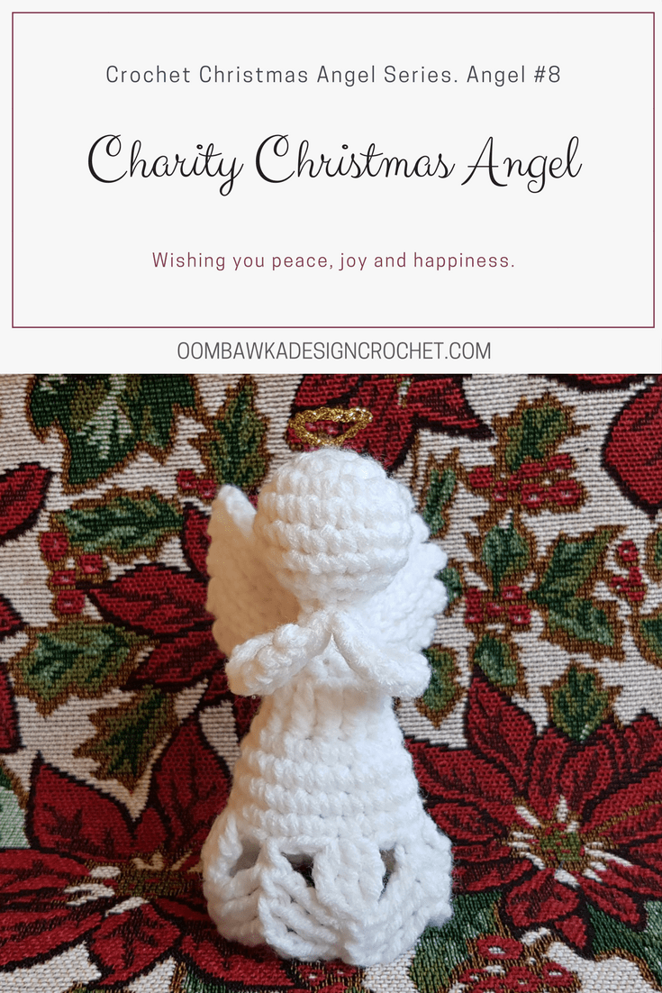 Charity Crochet Christmas Angel ODC