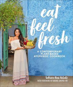 Cover - Eat Feel Fresh. DK Book Review by Rhondda Mol Oombawka Design