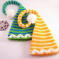Elf Hats for the Entire Family by B.hooked Crochet