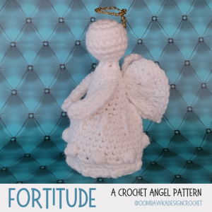 Fortitude Oombawka Design Crochet Angel